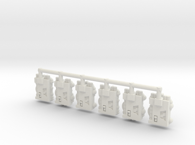 TCG - Phase Charge - Siege Compatible in White Natural Versatile Plastic: Medium