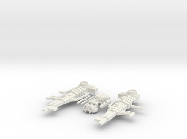 Opressor Kit in White Natural Versatile Plastic