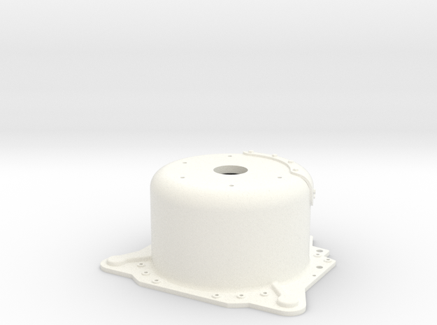 "1/8 Lenco 8.625"" Dp Bellhousing (No Starter Mnt) 3d printed"
