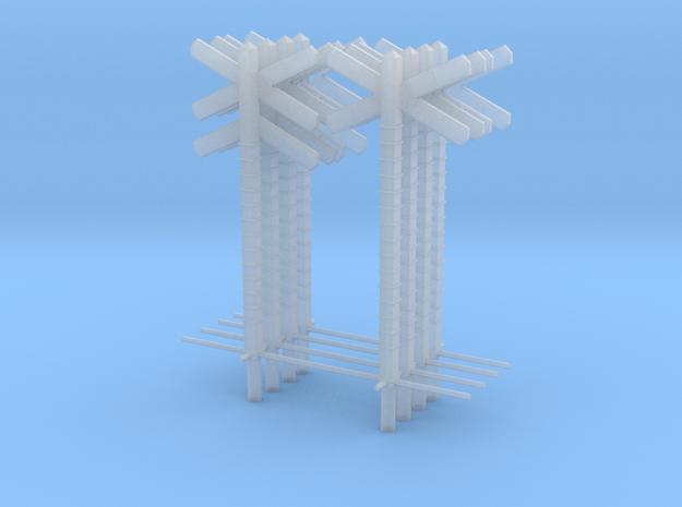 PN SNCB epoque 2-3-4 simple et double pour 1 PN  in Smooth Fine Detail Plastic: 1:43.5