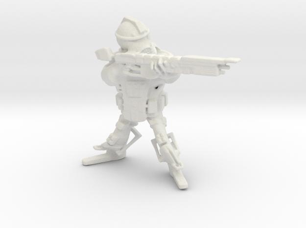 Imperial Guardian PlasmaGun Apollo in White Natural Versatile Plastic