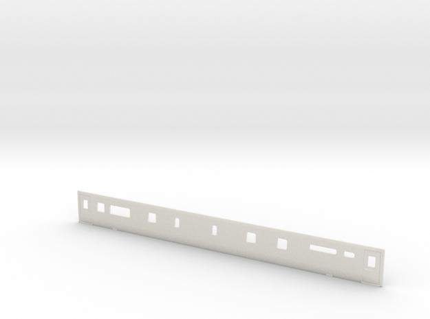3mm Scale Mk3 TRBF Buffet Coach Side A in White Natural Versatile Plastic