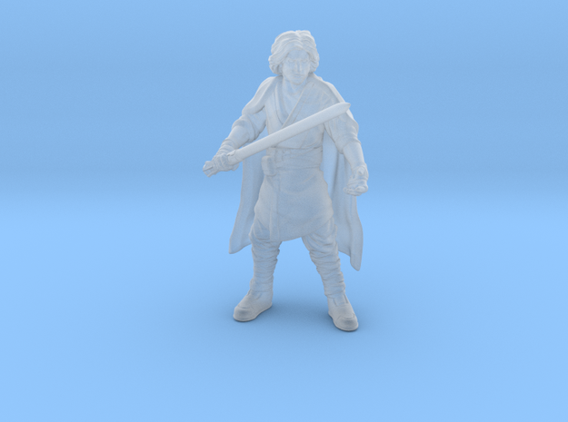 Young Warlock progeny in Smooth Fine Detail Plastic