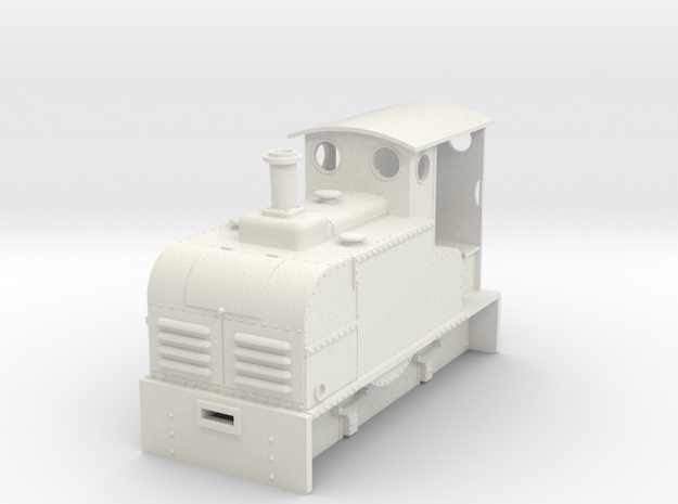 On18/O9 Ruston Proctor Oil loco 3d printed