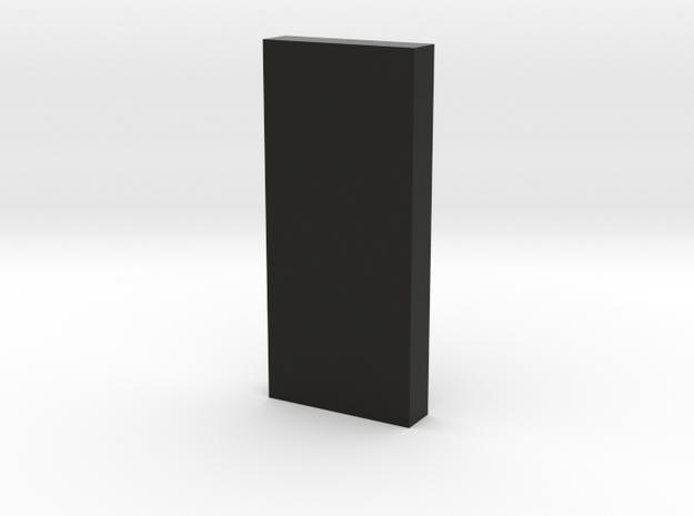monolith 1*4*9 in Black Natural Versatile Plastic