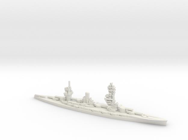 Japanese Fuso-Class Battleship in White Natural Versatile Plastic: 1:600