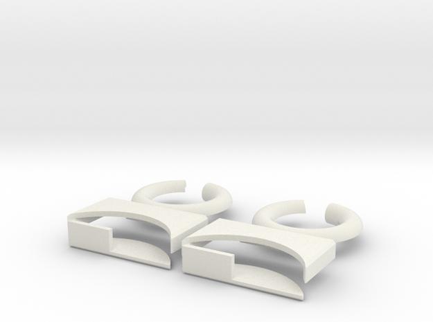lock-puzzle-pieces in White Premium Versatile Plastic