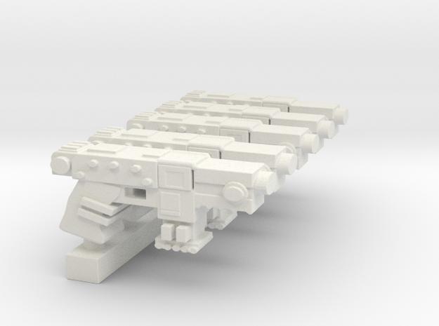 Primaris BoltPistol SET in White Natural Versatile Plastic