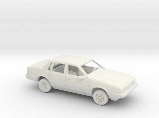 1/64 1990 Chevrolet Celebrity Sedan Kit in White Natural Versatile Plastic