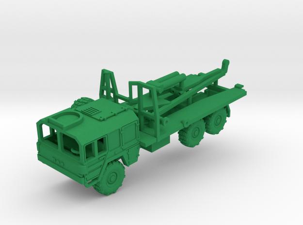 MAN 7ton 455 Improve Ribbon Bridge Carrier in Green Processed Versatile Plastic: 1:144