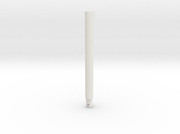 08.03.03.09 Plunger Rev2 in White Natural Versatile Plastic