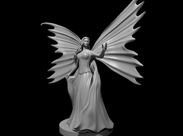 Fairy Queen in Smooth Fine Detail Plastic