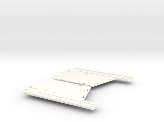 as2003-01  Axial F100 Int. Bucket Door in White Processed Versatile Plastic