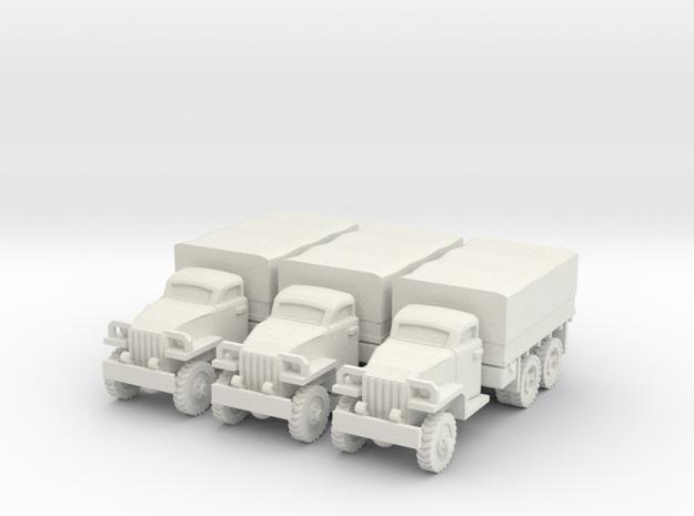 1/160 Studebaker truck (3) in White Natural Versatile Plastic