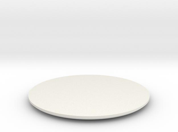 DISC2-FWD-XG-2B-BL in White Premium Versatile Plastic