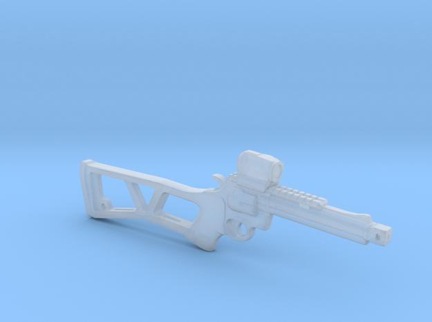 .357 Volatile pistol w/stock 1:6 in Smooth Fine Detail Plastic