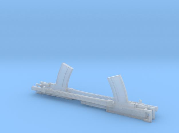 2 X 1/35 Breda 13.2mm Machine gun in Smooth Fine Detail Plastic