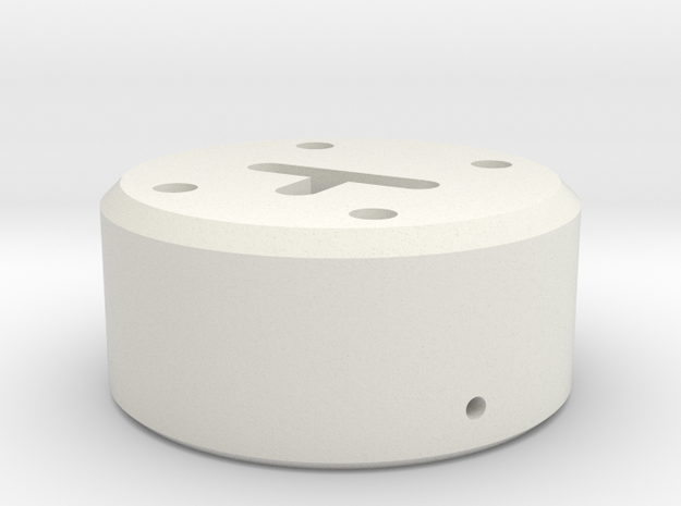 Regional Manager - Neopixel Holder  KR-Style -  Pa in White Natural Versatile Plastic