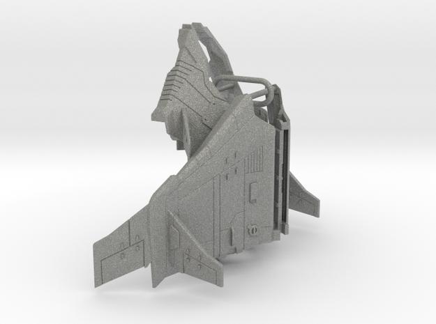 Tetrajet Dirge wings in Gray PA12
