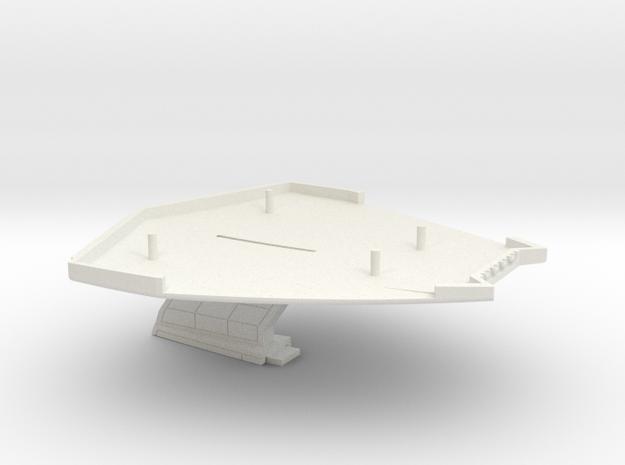 1/1800 Taiho Class Pod Bottom in White Natural Versatile Plastic