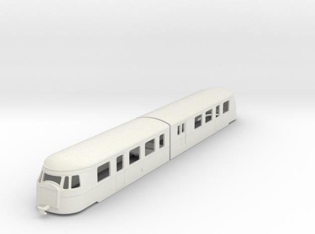 bl64-billard-a150d2-artic-railcar in White Natural Versatile Plastic