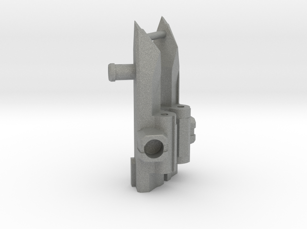 Tetrajet Wing Hinges with 5mm port in Gray PA12
