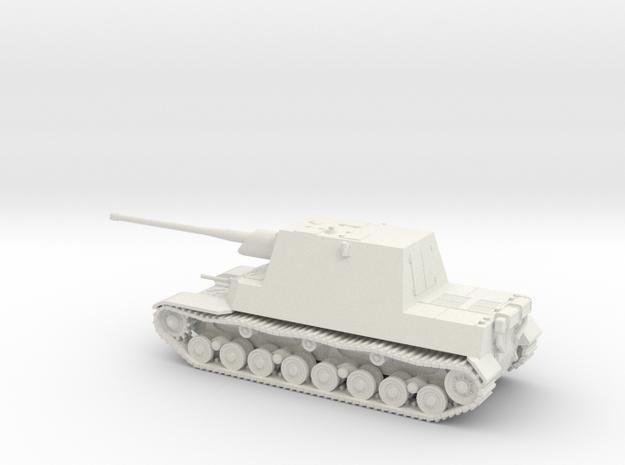 1/87 IJA Type 5 Ho-Ri II Tank Destroyer in White Natural Versatile Plastic