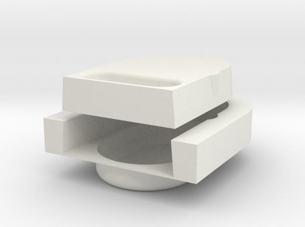 Lock test in White Natural Versatile Plastic