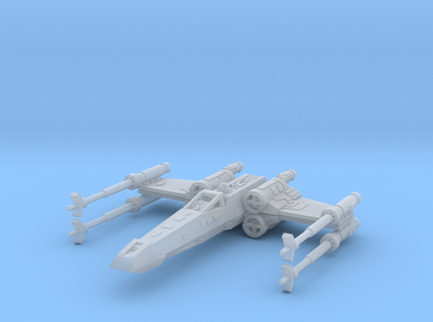 1/350 X-Wing with Closed S-Foils in Smooth Fine Detail Plastic