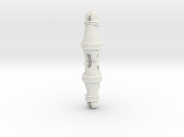 Drakkon Evo 2 Shins LC  in White Natural Versatile Plastic