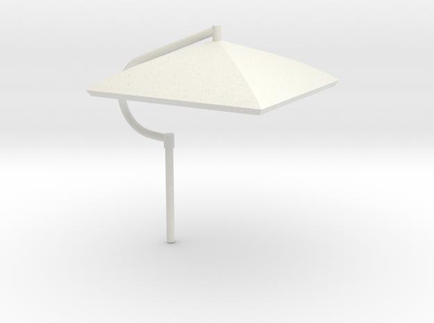 Umbrella Heavy Equipment 1-64 Scale in White Natural Versatile Plastic