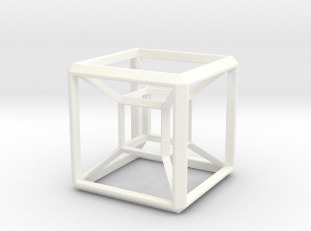 SCULPTURE HyperCube Base for 48mm 3d-Cross 3d printed