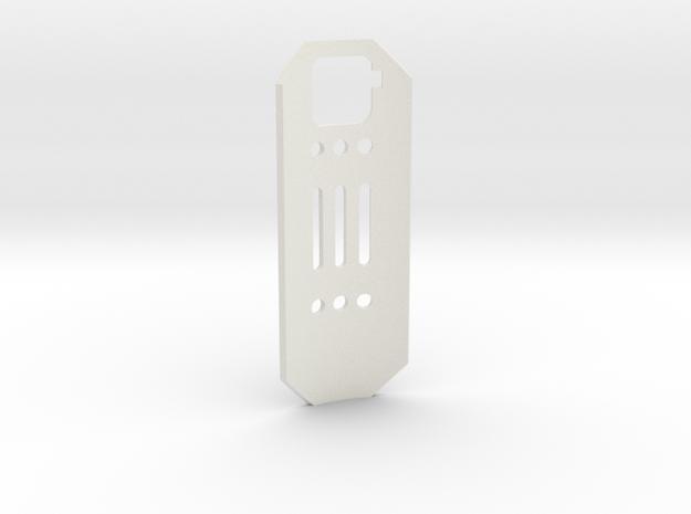 Graflex GMM Chassis - Part12 - Shield in White Natural Versatile Plastic