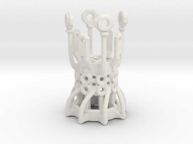 Graflex GMM Chassis - Part03 - Rotating Gate in White Natural Versatile Plastic