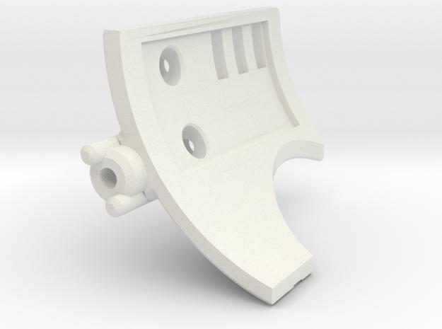 Graflex GMM Blade Holder - Cover 2 in White Natural Versatile Plastic
