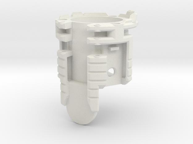 Graflex GMM Blade Holder - Main Holder in White Natural Versatile Plastic