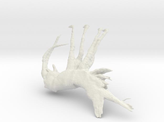 Shrimp, 150mm version in White Strong & Flexible