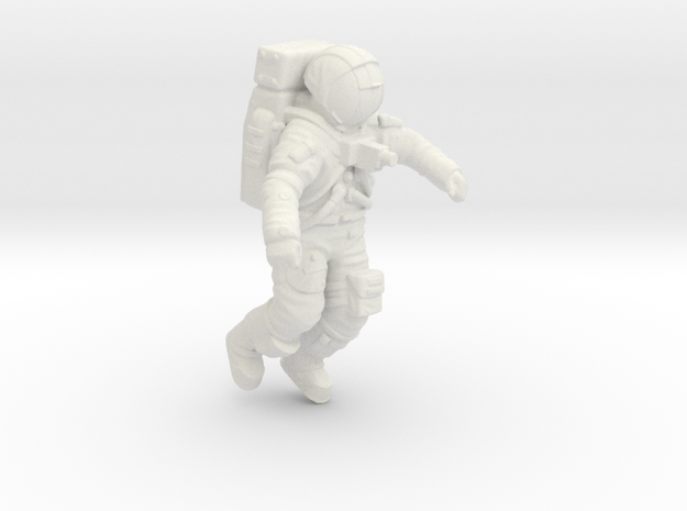 Apollo Astronaut Jumping 1:48 in White Strong & Flexible
