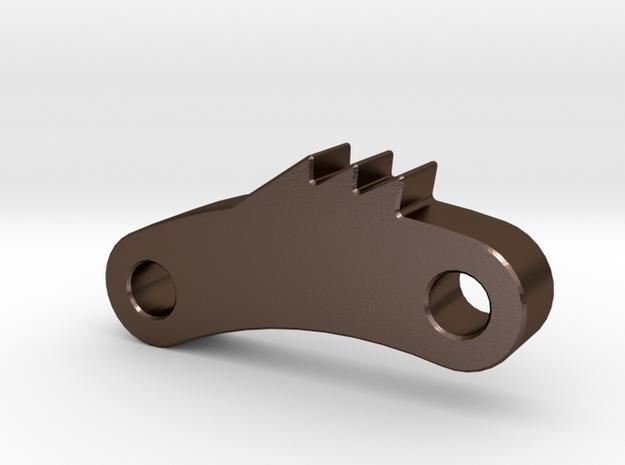Handbrake Pawl  in Polished Bronze Steel