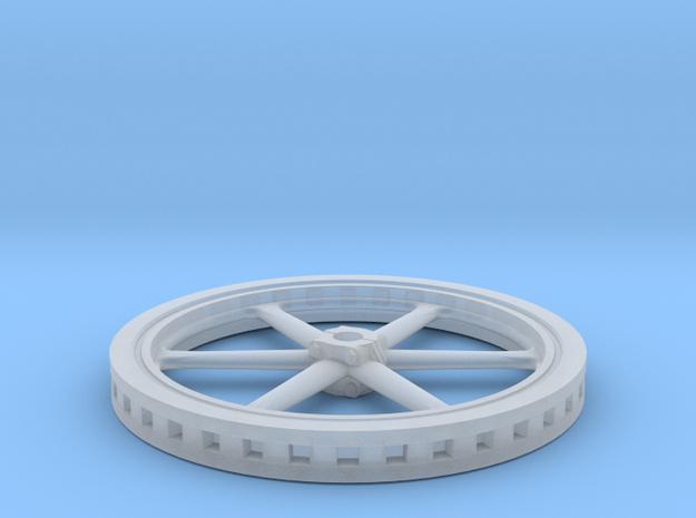 Six Spoke Flywheel in Smooth Fine Detail Plastic