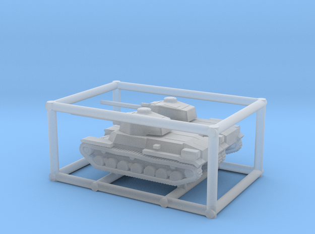 2 X 1/285 IJA Type 4 Chi-to Medium Tank in Smooth Fine Detail Plastic