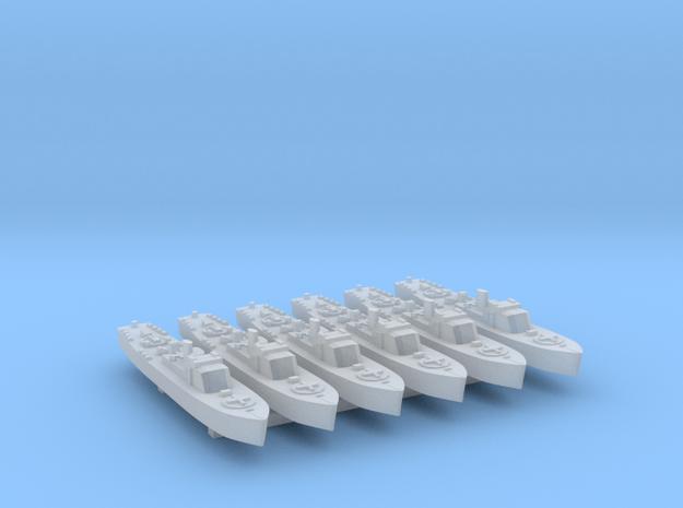 6pk Fairmile B motor launch FUD WW2 1:1200 in Smooth Fine Detail Plastic