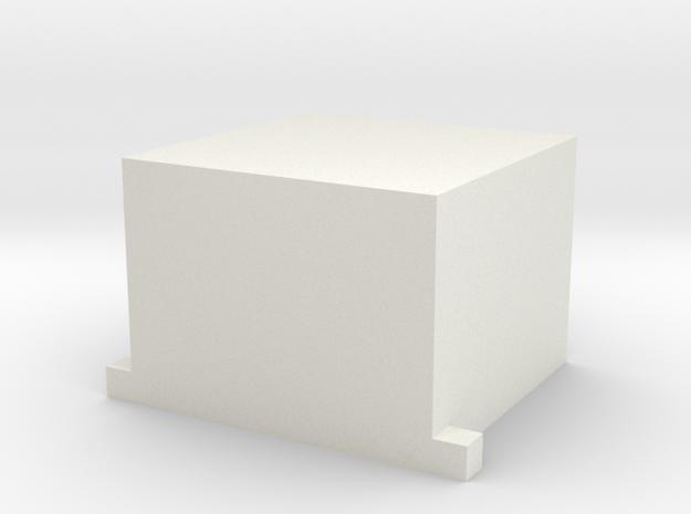 cover in White Natural Versatile Plastic