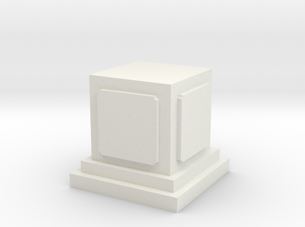 Pedestal for miniatures 1