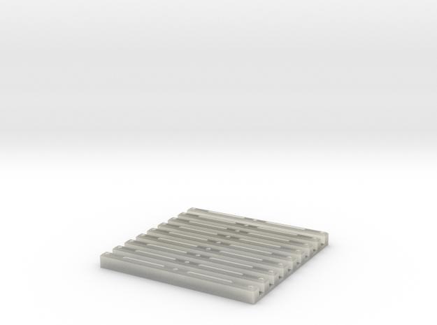 SCIFI Corridor Floor Grill 3d printed