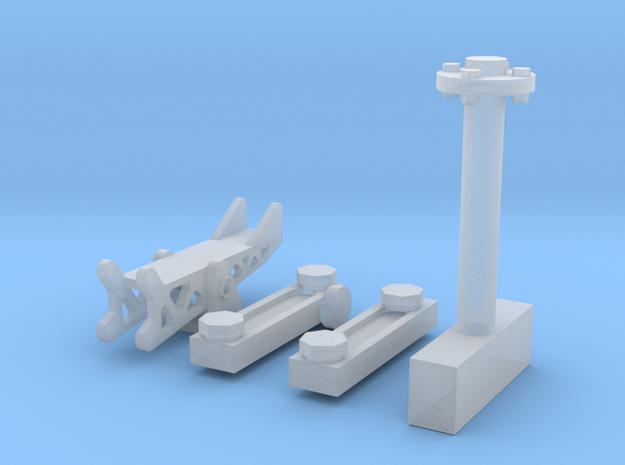 Soporte-Movil-Ametralladora-35-proto-01 in Smoothest Fine Detail Plastic