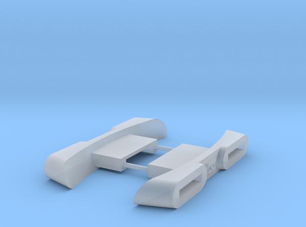 1/1000 Variant Impulse Engine 2pk in Smooth Fine Detail Plastic