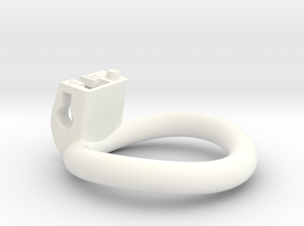Cherry Keeper Ring - 38mm -6° in White Processed Versatile Plastic