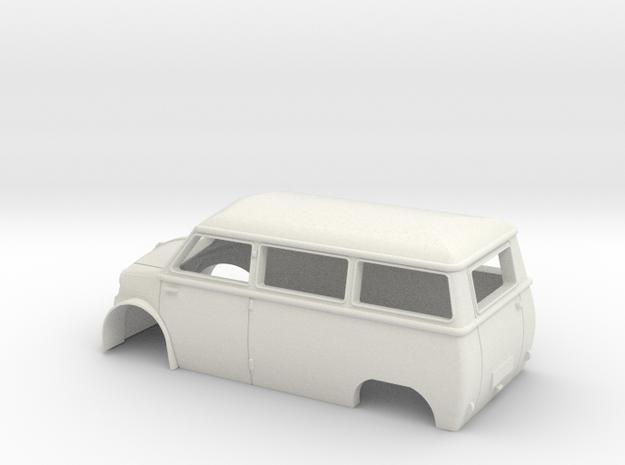 Lloyd Bus  LT600 1955 in White Natural Versatile Plastic