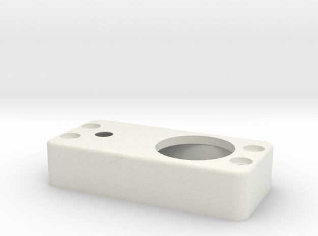Strengthener holder-for-hitec7980 in White Natural Versatile Plastic